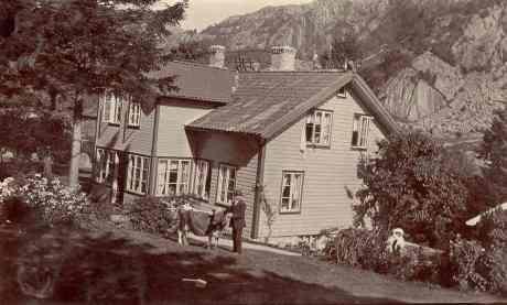 Salvesens hotell ca. 1910