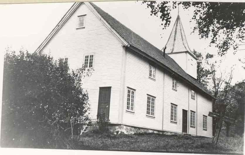 Lund kirke fra øst