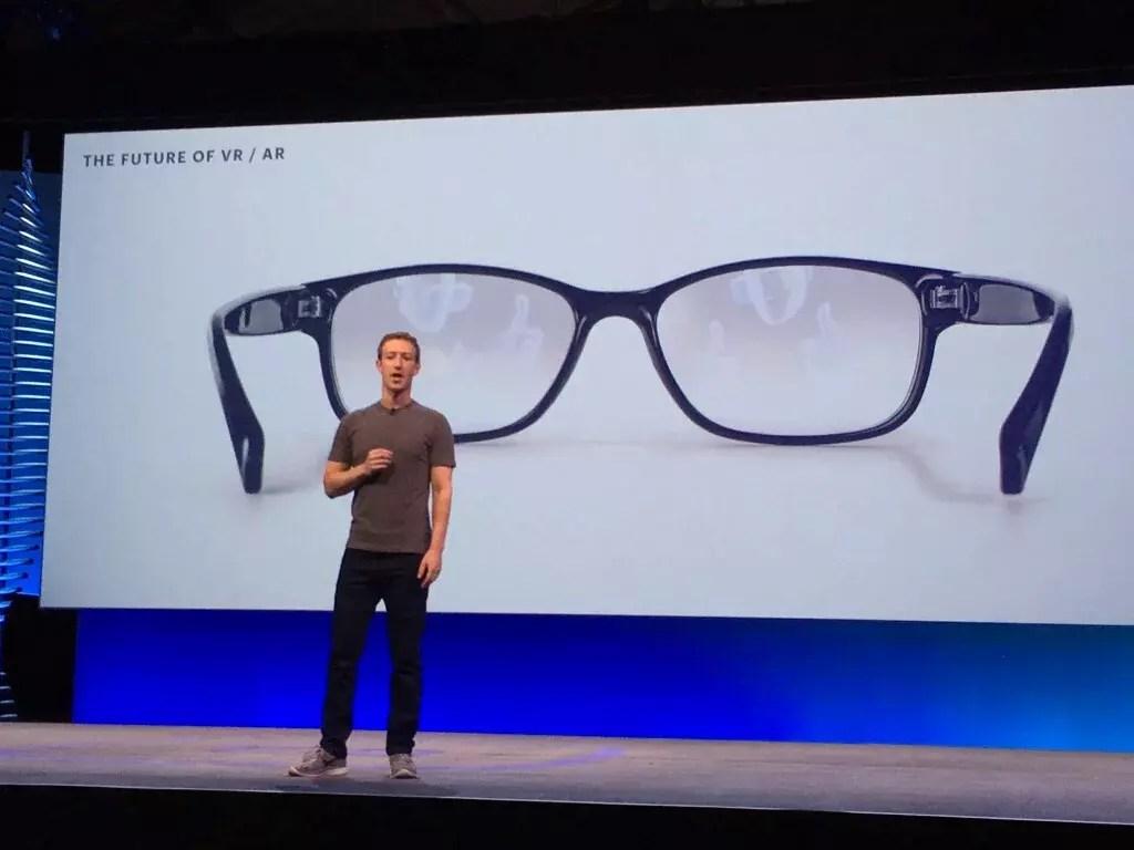 Facebook glass, réalité virtuelle VR