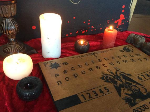 spiritisme avec baphomet ouija