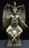 baphomet figure pour les satanistes
