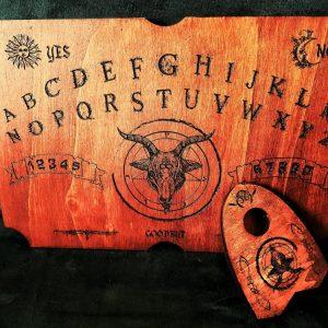 planche de ouija authentique en bois