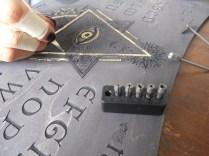 Ouija board création