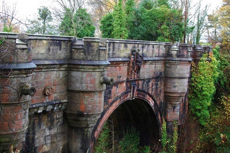 Photo du Pont d'Overtoun en Ecosse