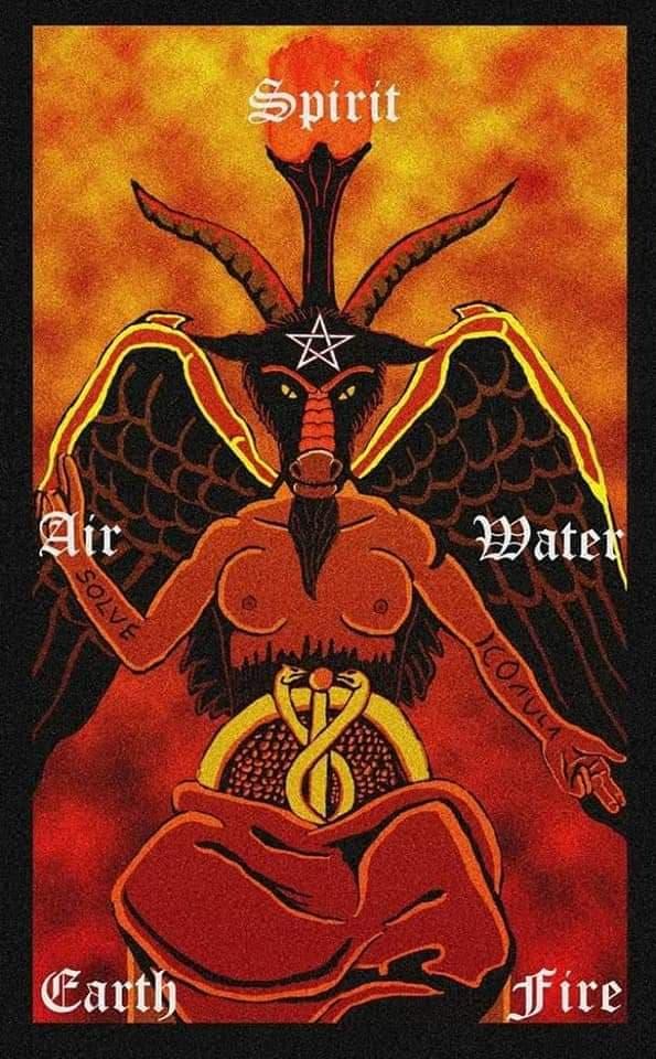 Baphomet Divinité sacrée
