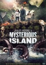 L'île Mystérieuse Affiche, Jules Vernes
