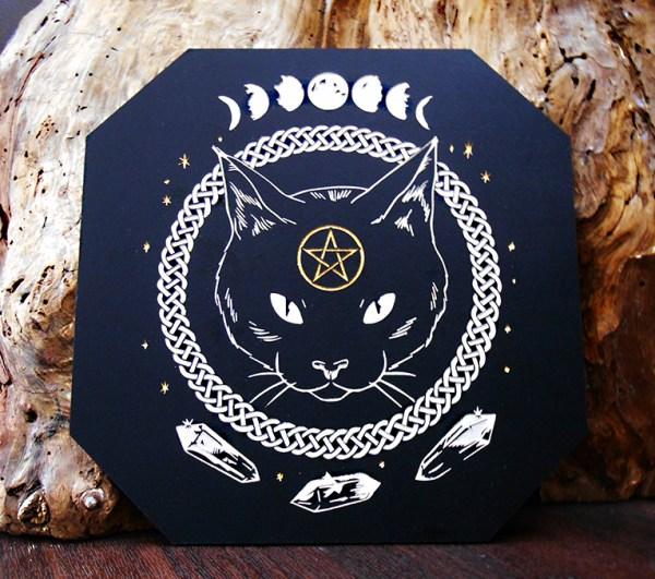 Wicca chat noir mystique