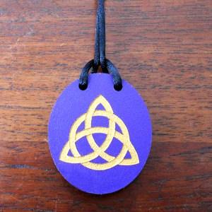 triquetra pendentif or