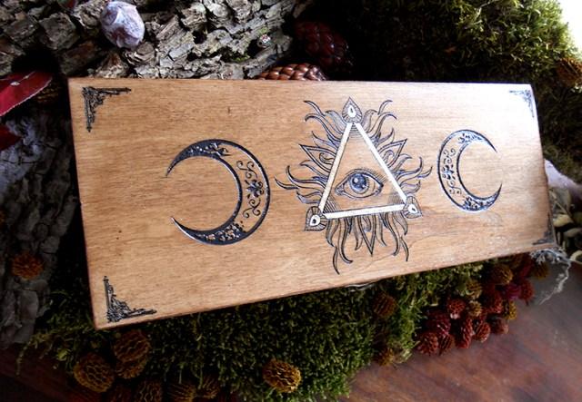 ésotérique boîte wicca