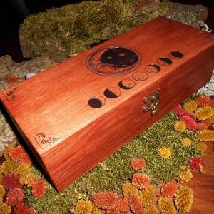 boite ésotérique en bois