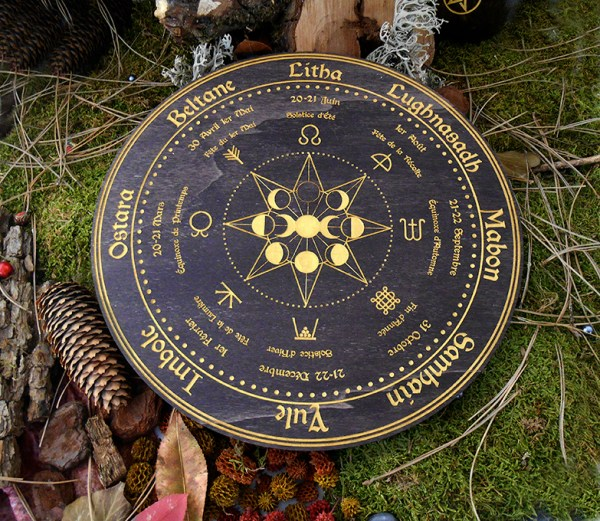 Wicca roue