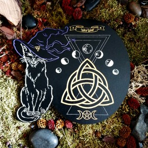 Wicca chat noir