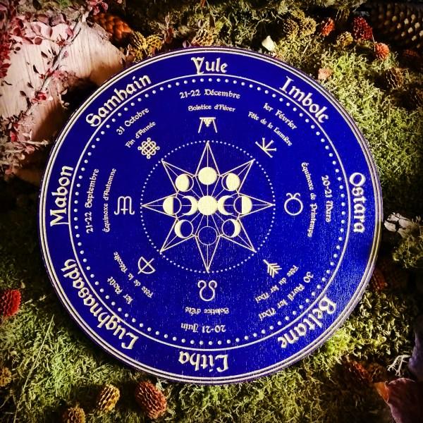Wicca Roue sabbats