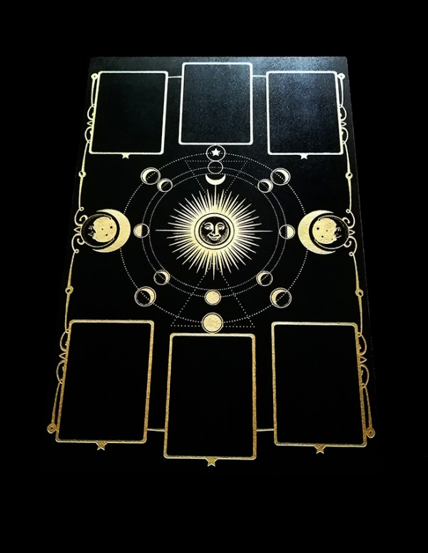 Oracle Noir et Or tirage cartes