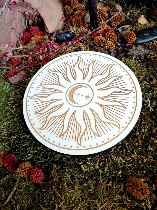 Soleil de Vie sur Bois