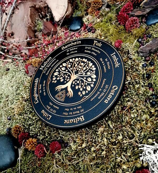 roue de la vie rituel wicca