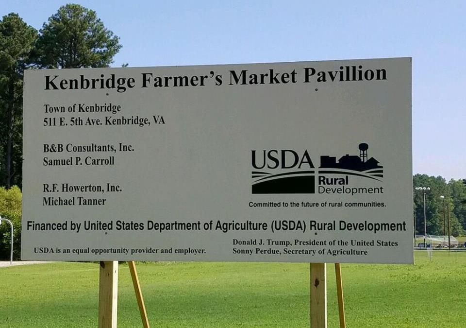 Kenbridge Farmer's Market Temporary Move…