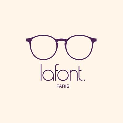 Logo Lafont, fournisseur de lunettes