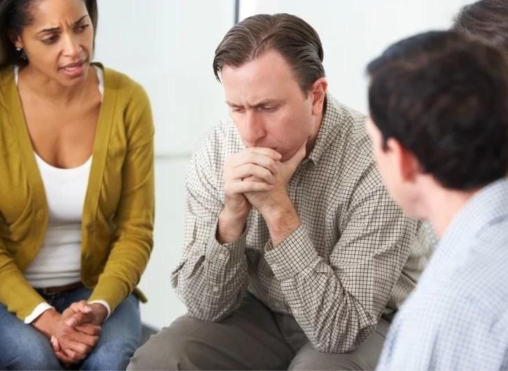 stödgrupper för sjuka