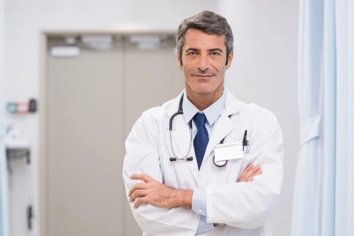 motiverad läkare