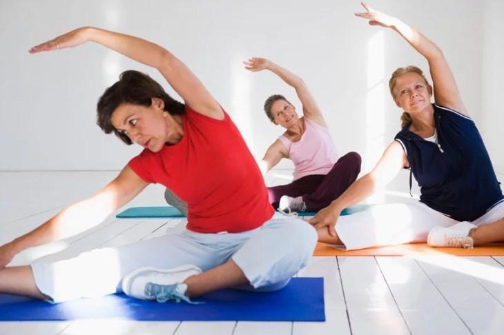 fysisk aktivitet yoga