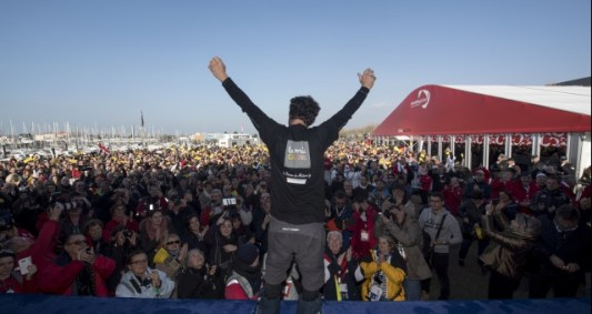 podium-during-finish-arrival-of-arnaud-boissieres-fra-skipper-la-mie-caline-10th-of-the-sailing-circumnavigation-solo-race-vendee-globe-in-les-sables-d-olonne-france-on-february-17th-2017-photo-olivie