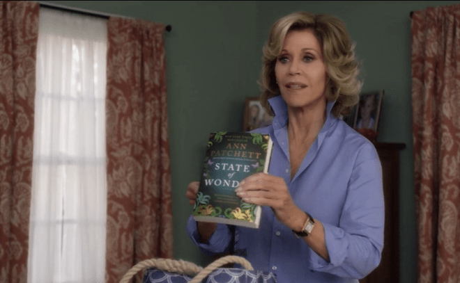 Grace and Frankie - bookwatching
