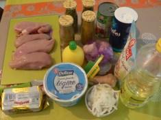 Les ingrédients du Butter Chicken