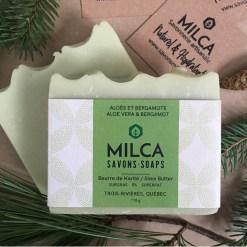 Savon Aloes et Bergamote MILCA