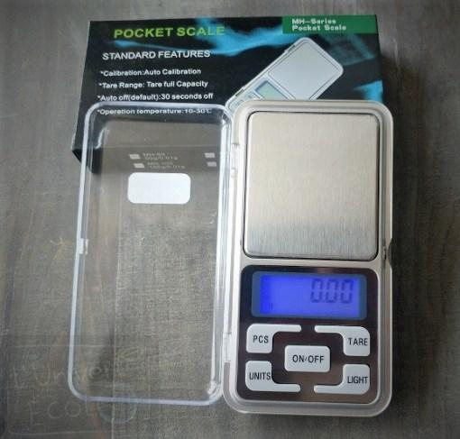 Balance de poche numérique