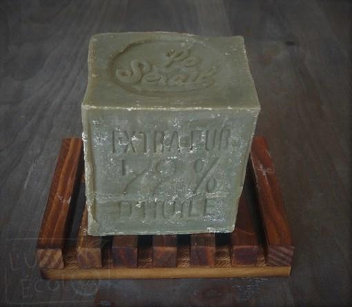 Cube savon de Marseille - huile d'olive