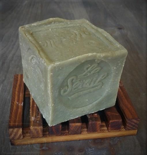 Cube de savon de Marseille de ménage 300g - Huile de'Olive - L'Univert Écolo