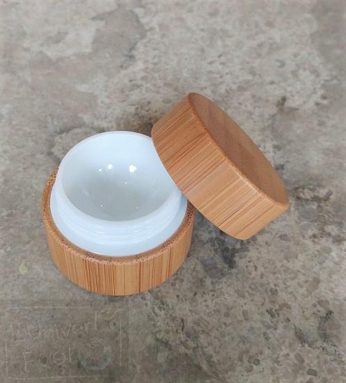 Pot de crème en bambou - 5ml