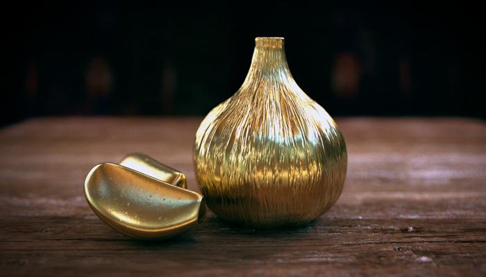 Фигурка Золотой чеснок