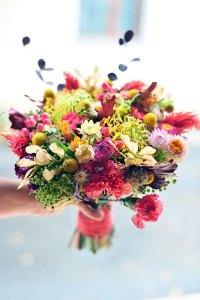 Brides dergisi için hazırladığımız sonbahar buketi