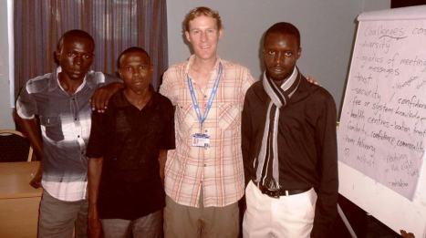 refugee participants & I