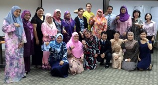 School principals on workshop, Brunei