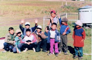 Students from Kyrgyzstan.