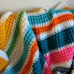 Waffle Stitch Crochet Tutorial Lu North Strong Free