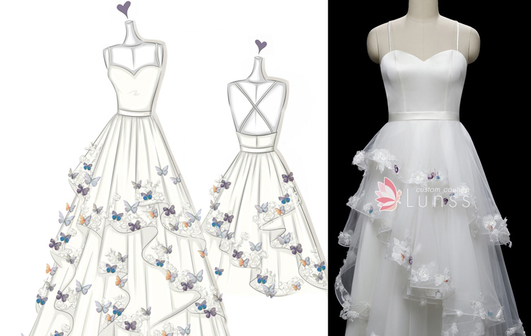 Where And How To Design Your Own Wedding Dress For Free