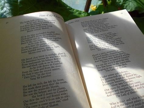 Hetkiä kasvihuoneessa kera Tennysonin