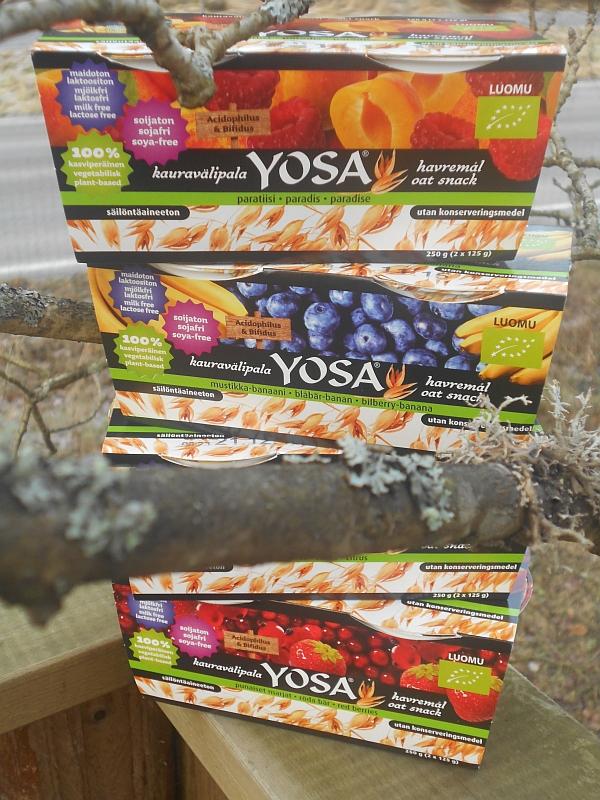 Kauraisat Yosa välipalat