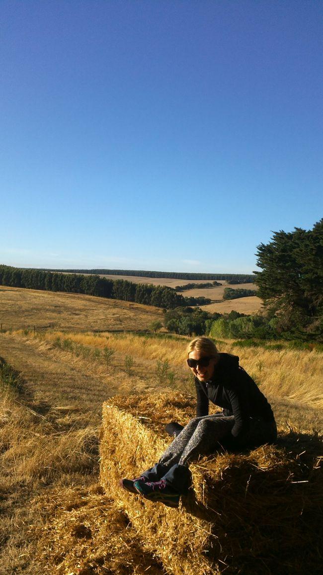 Haastattelussa WWOOF Finlandin koordinaattori Heini Rosvall