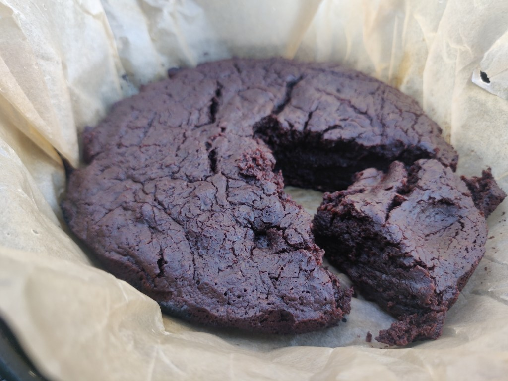 Kakku trangialla