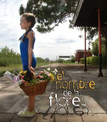 El nombre de las flores - Afiche