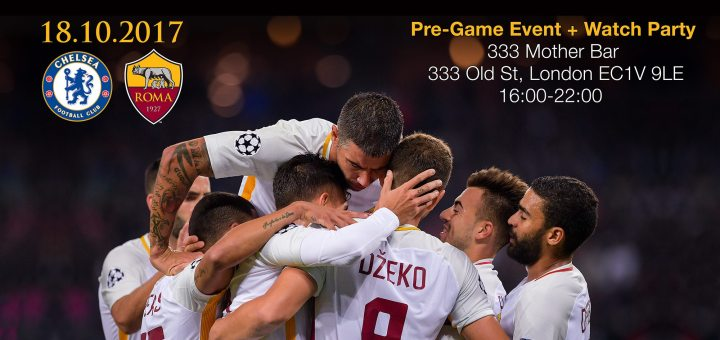Pre-Game Event Chelsea - AS Roma