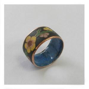 エポキシ樹脂の指輪