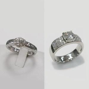 Ptダイヤモンドリングのジュエリーリフォーム