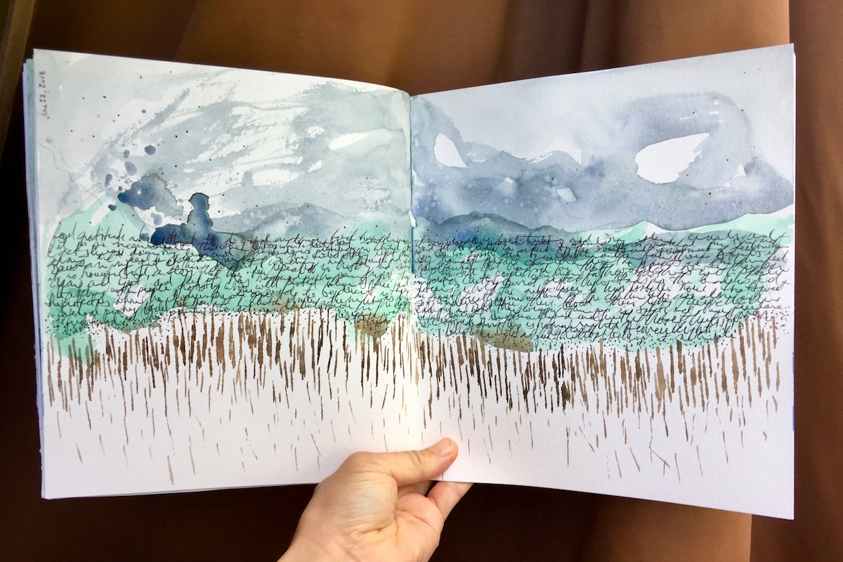 Watercolour Art Journaling