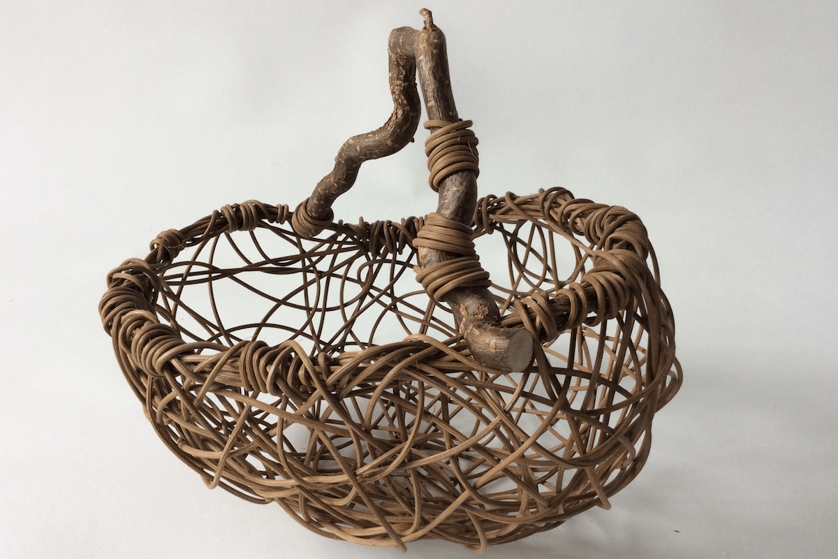 Freehand Basket Weaving with Driftwood with Amy Dugas